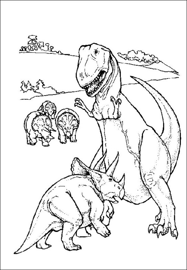 dinosaur coloring pages kids az coloring pages
