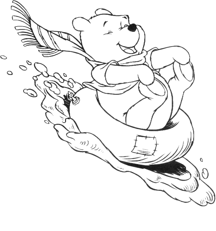 activity village winter coloring pages - photo#1