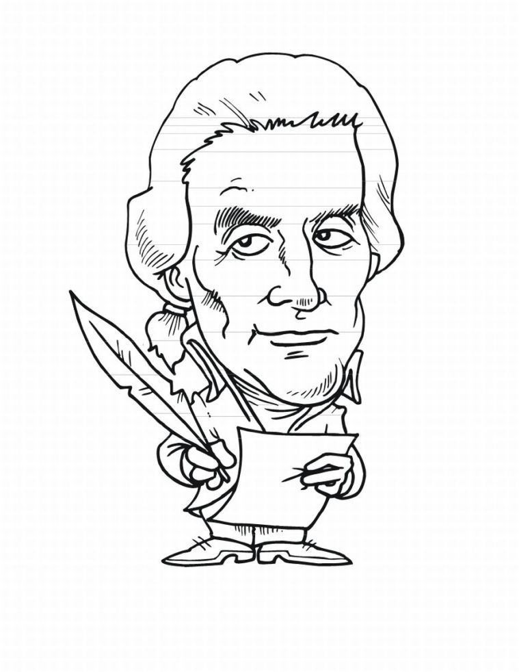 Presidents Day Coloring Pages 3: Presidents Day Coloring Pages