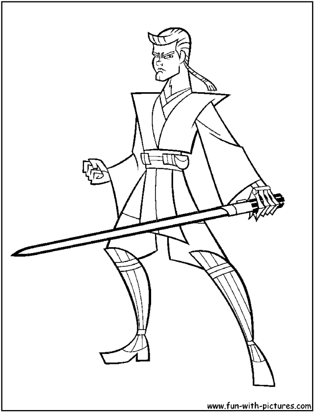 lego anakin skywalker coloring pages - photo#8