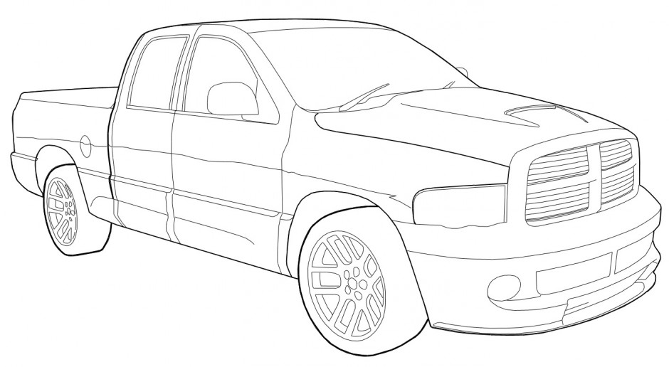 Dodge Cummins Coloring Pages Free coloring pages of...