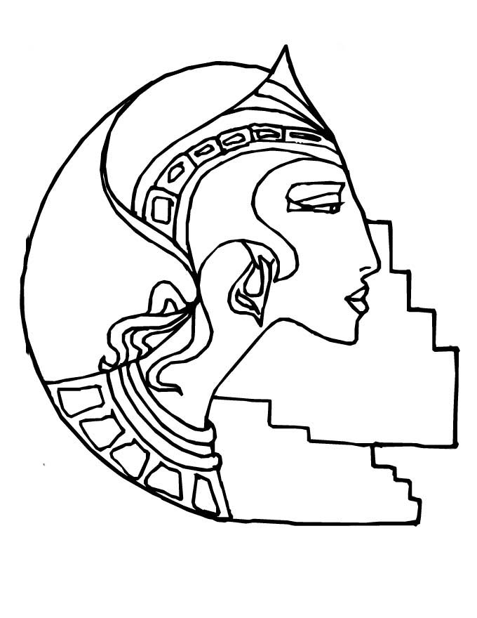 hat coloring pages ancient egypt - photo#19