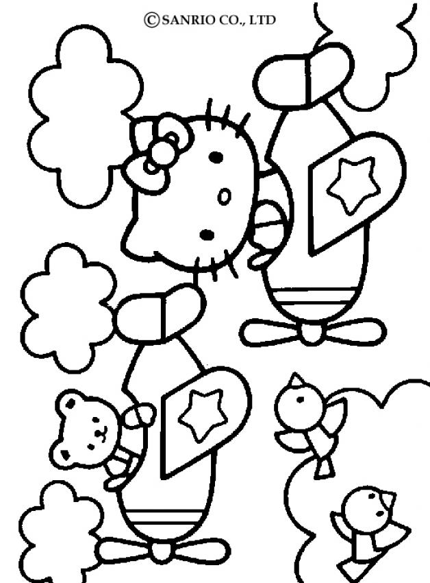 Colouring Pictures Hello Kitty Friends : Hello kitty and friends pictures coloring home