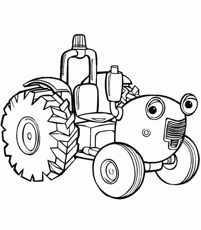 Case Ih Coloring Page Car Pictures