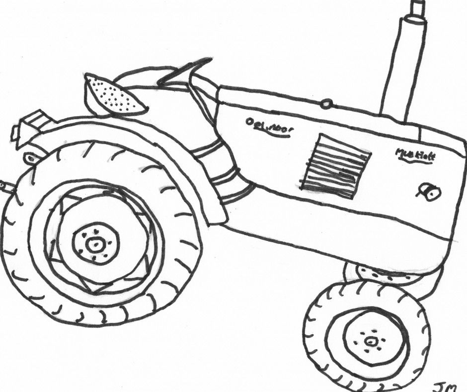 john deere tractor coloring page coloring home