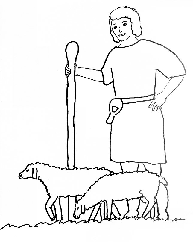 oh david coloring pages - photo #22