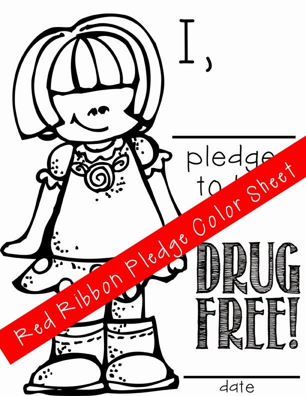 Just say no to drugs coloring pages coloring home for Be drug free coloring pages