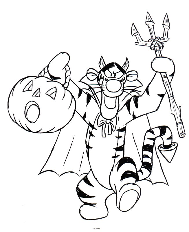 tigger coloring pages to print - photo#19