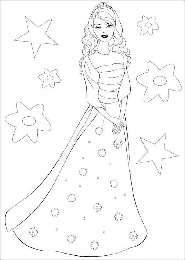Free printable fashion coloring pages for girls Keep Healthy