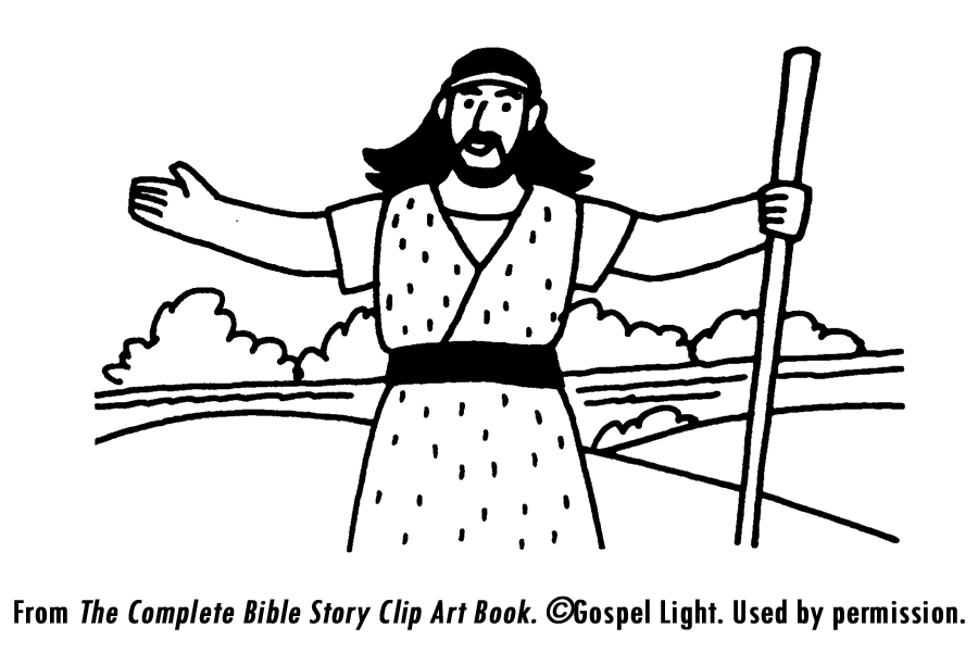 coloring pages john the baptist - photo#25