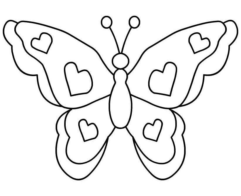Butterfly image - vector clip art online, royalty free & public domain