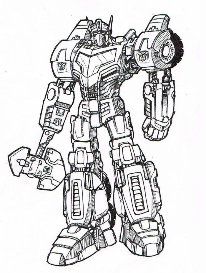 coloring pages optimus prime - photo#19
