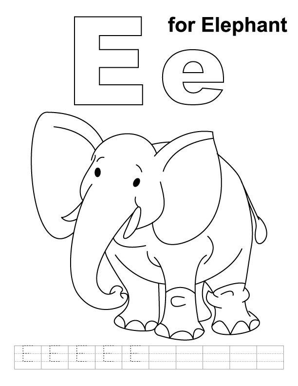 free zoo phonics coloring pages - photo#46