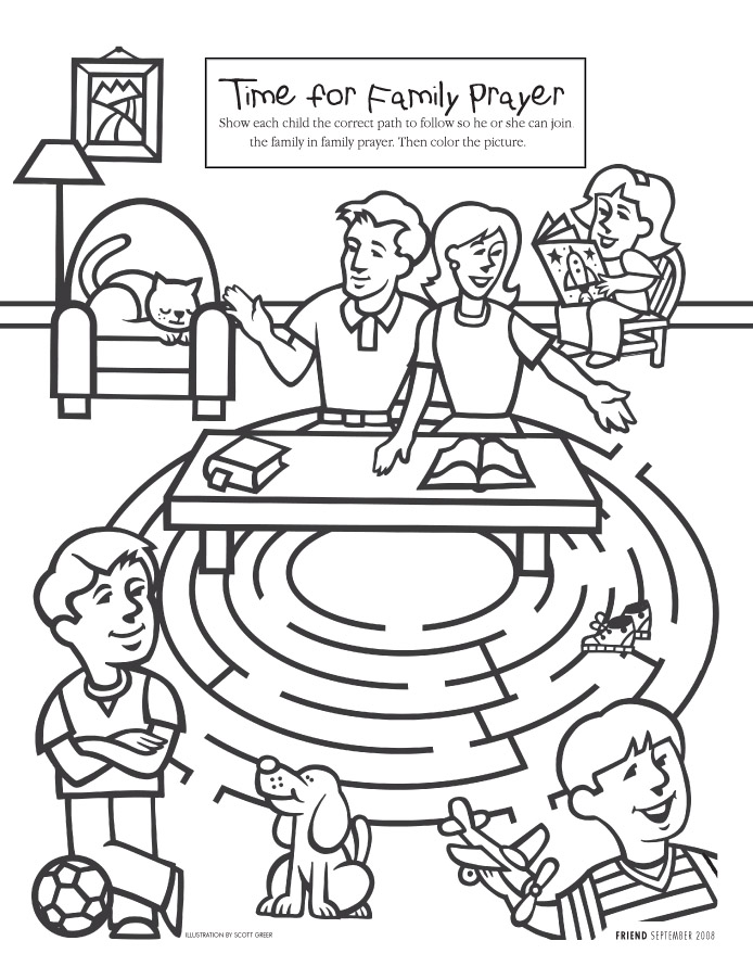 Jesus In The Temple Coloring Page - AZ Coloring Pages