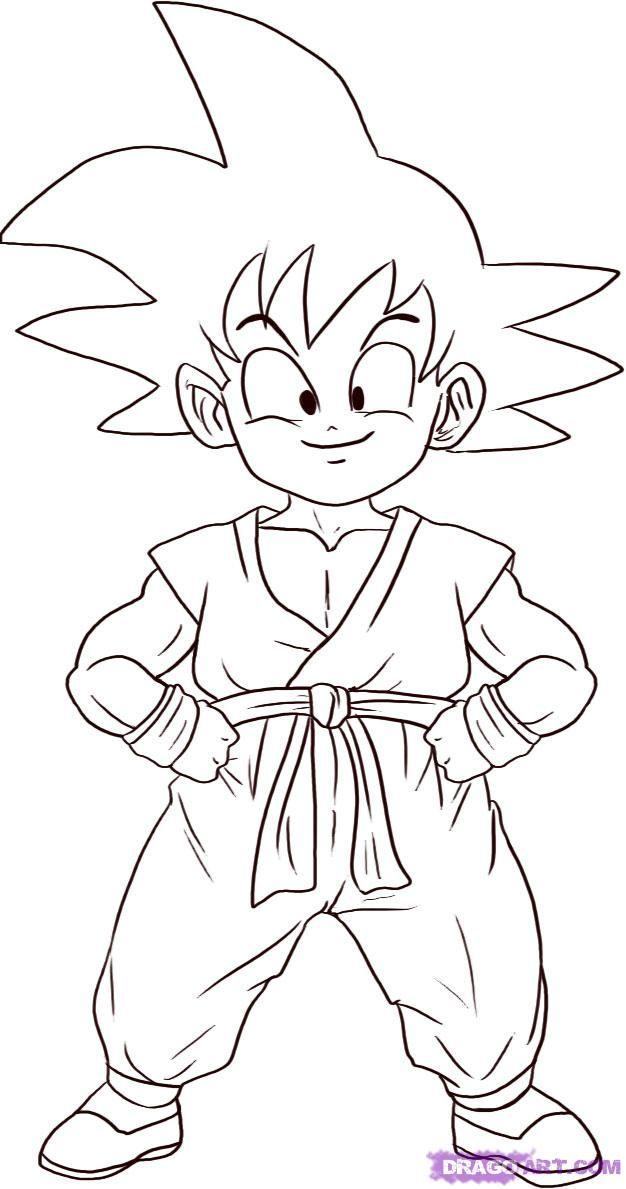 Goku Super Saiyan 4 Coloring Pages - Free Printable ...