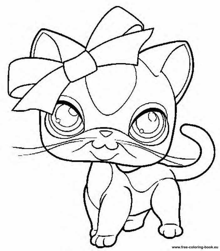 Littlest Pet Shop Coloring Pages To Print Coloring Home
