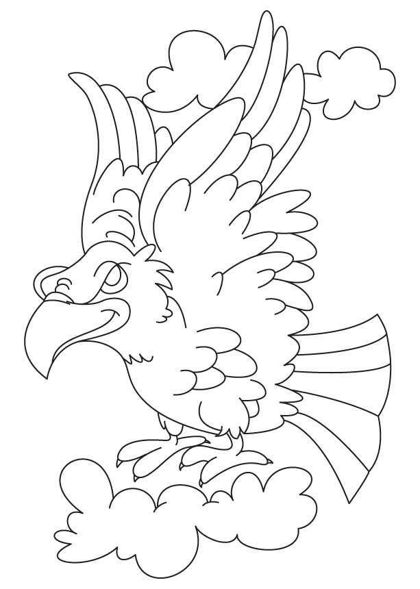 free eagle coloring pages coloring home