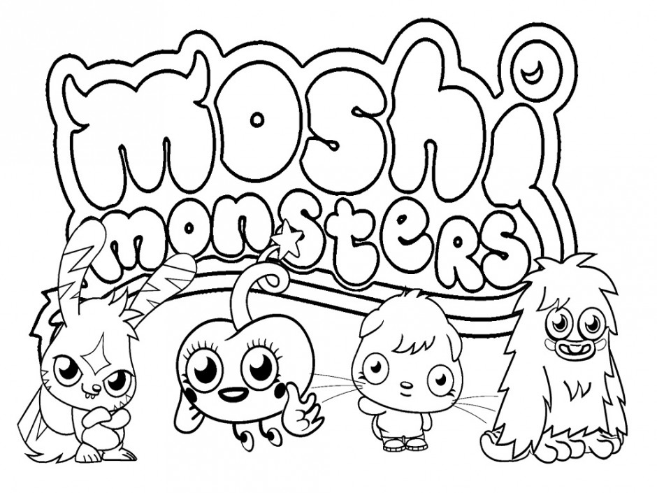Free Printable Monsters Inc Coloring Pages Cute Monsters
