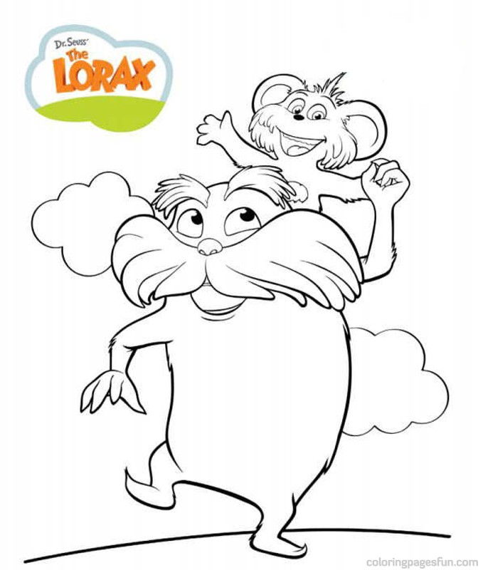 coloring pages of dr seuss - photo#13