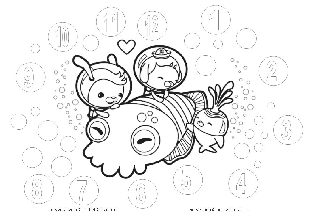 Octonauts Coloring Pages octonauts logo Colouring Pages
