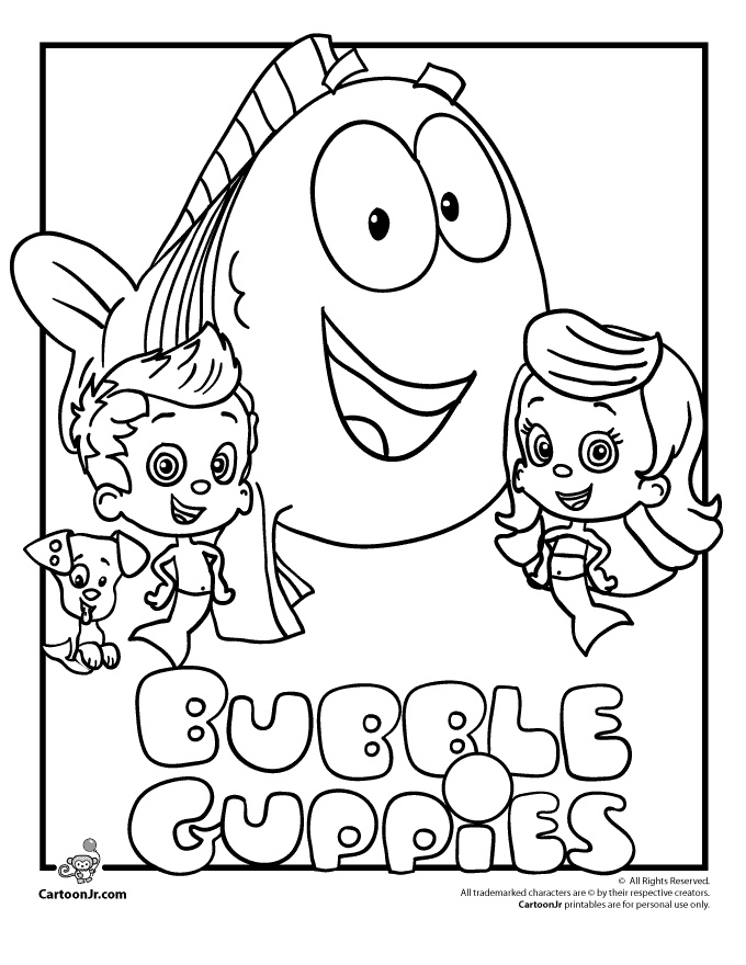 coloring pages nickelodeon - photo#27