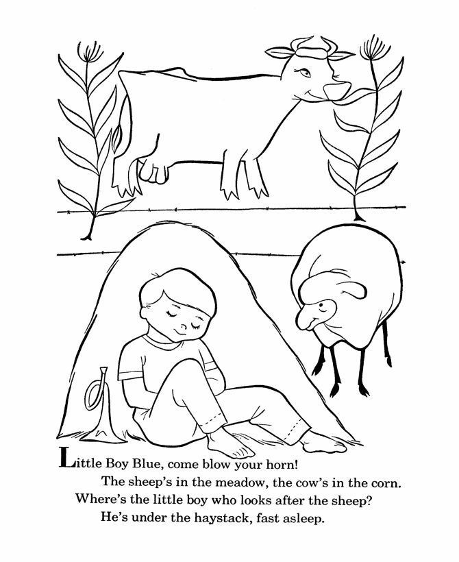 mother goose coloring pages free printable - mother goose nursery rhymes coloring pages coloring home