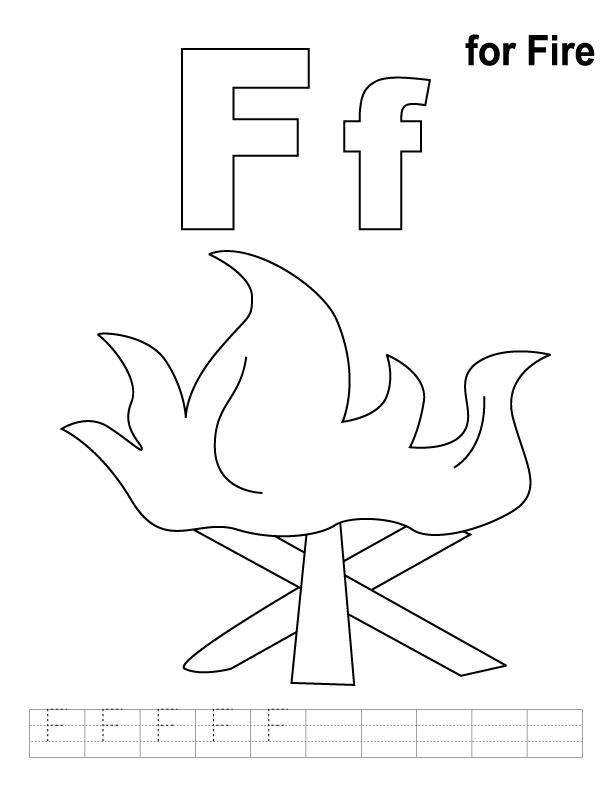 f coloring pages - photo #21