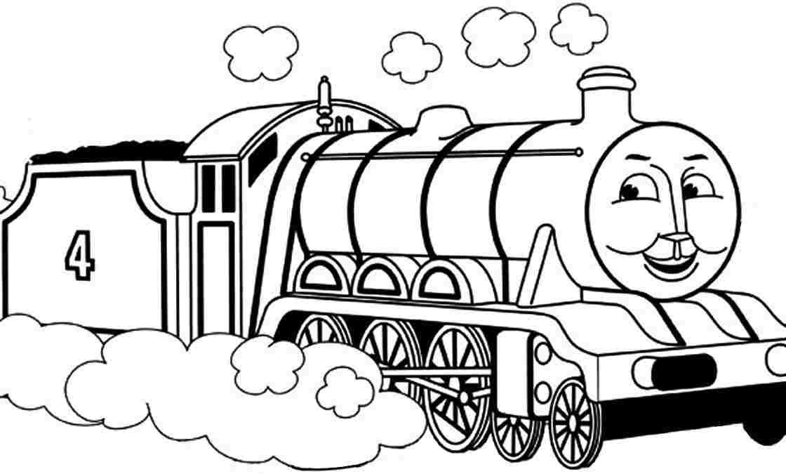 thomas and friends gordon Colouring Pages
