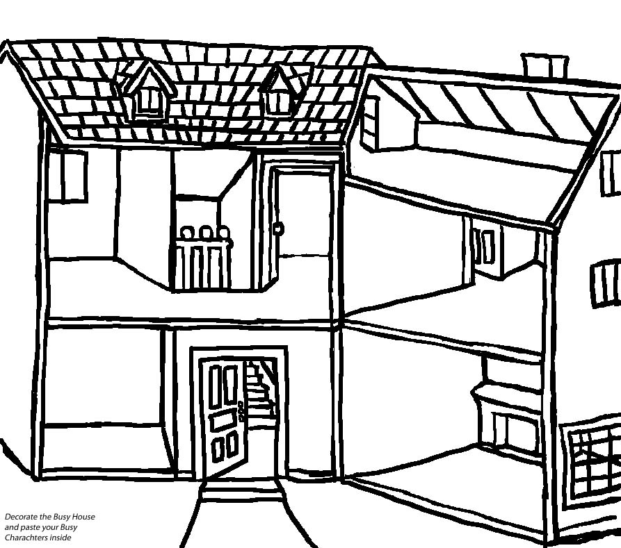 busytown coloring pages - photo#33