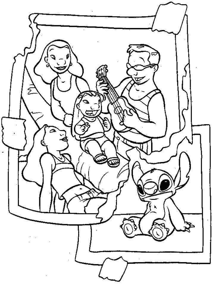 Family Coloring Sheet Family Coloring Sheets