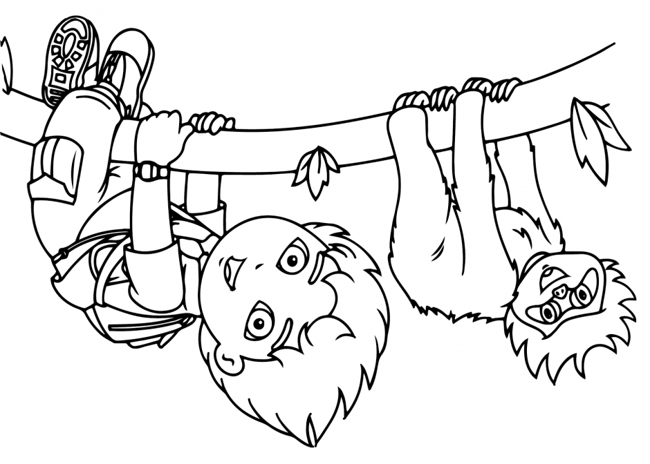Go Diego Go Colouring Pages Page 3 180138 Go Diego Go Coloring Pages ...