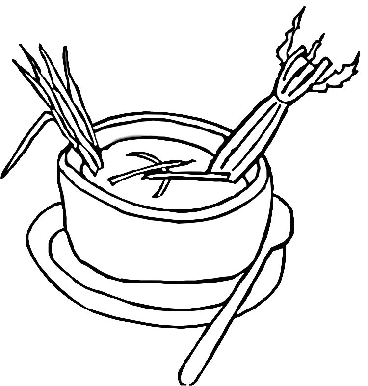 campbells soup coloring pages - photo#16