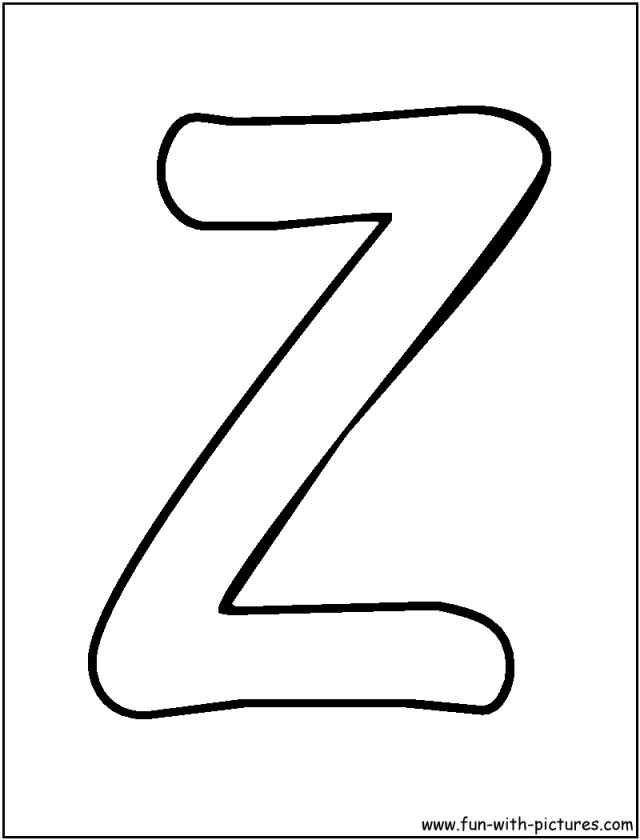 Bubble Letters Coloring Pages - Coloring Home