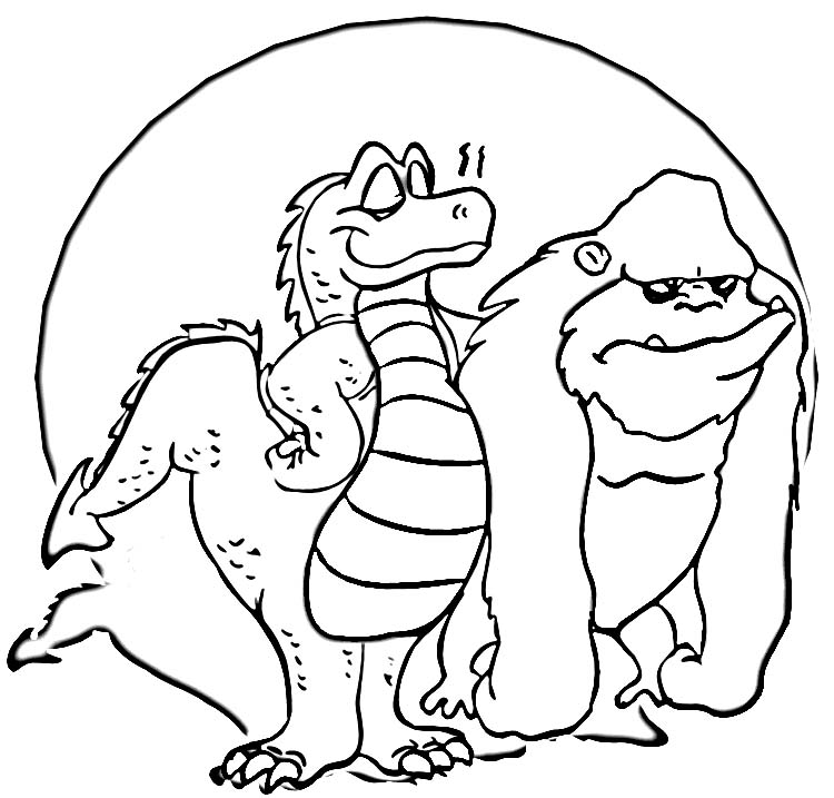 webkinz coloring pages free - photo#27
