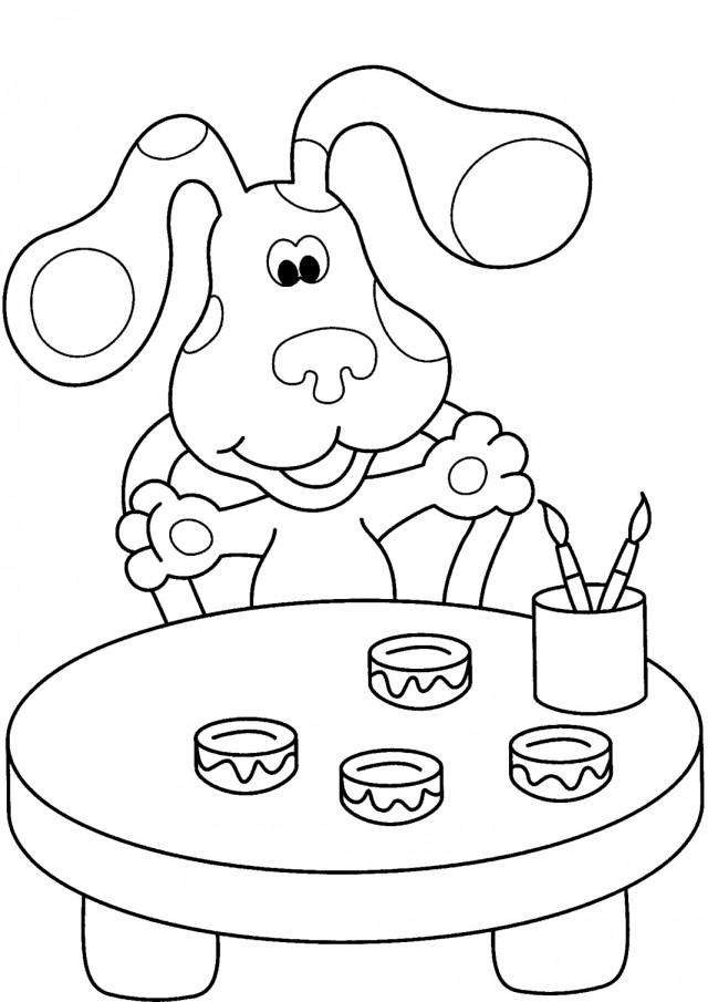 Nick Jr Printable Coloring Pages