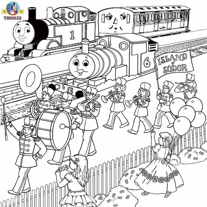 Thomas coloring pages online az coloring pages for Spencer the train coloring pages
