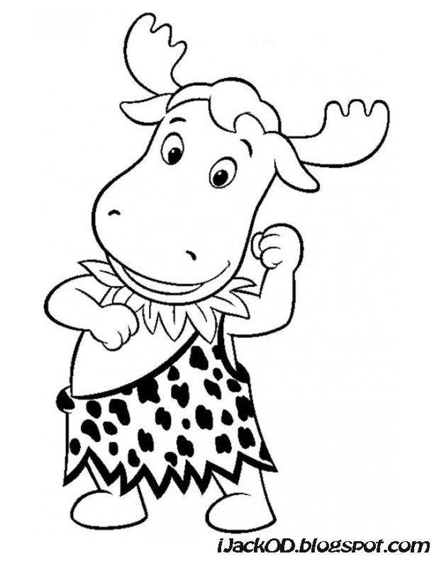 Backyardigans coloring page coloring home for Free backyardigans coloring pages