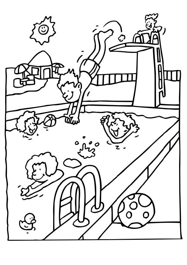 Child Safety Coloring Pages Coloring Home