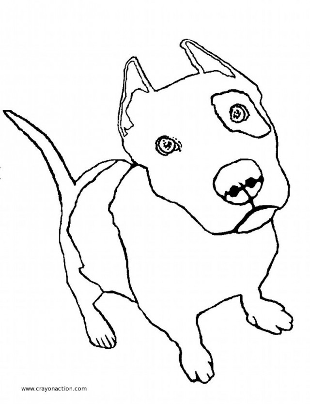 Printable Puppy Coloring Pages Drawing And Coloring For Kids