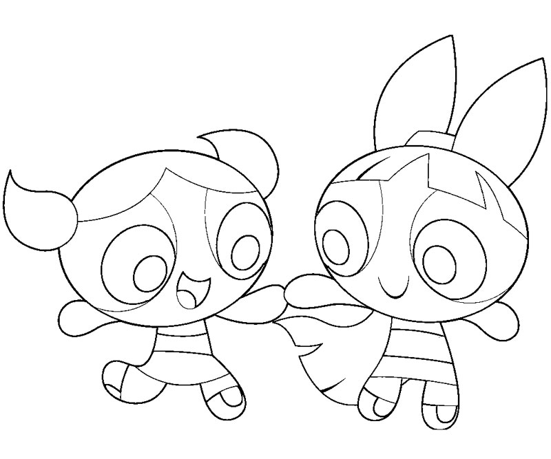 Powerpuff Girls Z Coloring Pages Az Coloring Pages Powerpuff Blossom Coloring Pages Free