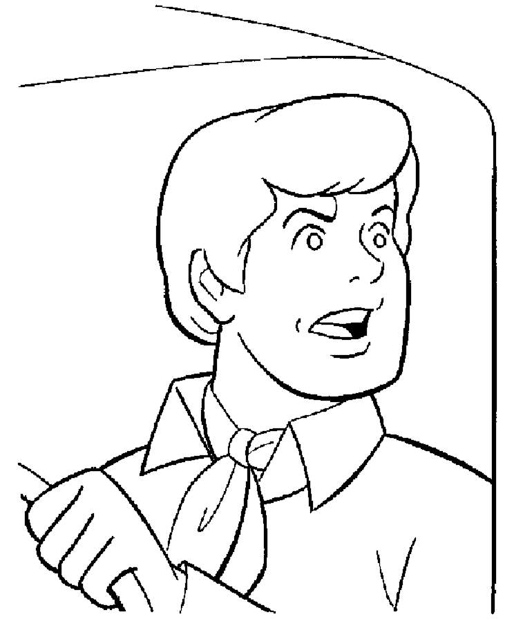 coloring pages of cartoon people - photo#35