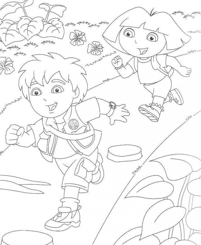 Diego Coloring Pages | ColoringMates.