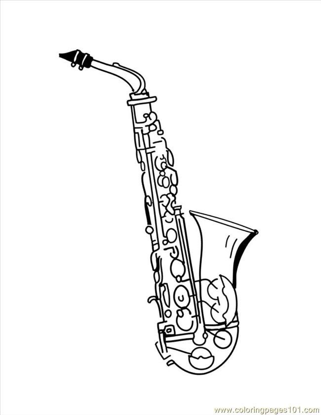 String Instruments Colouring Pages Page 3