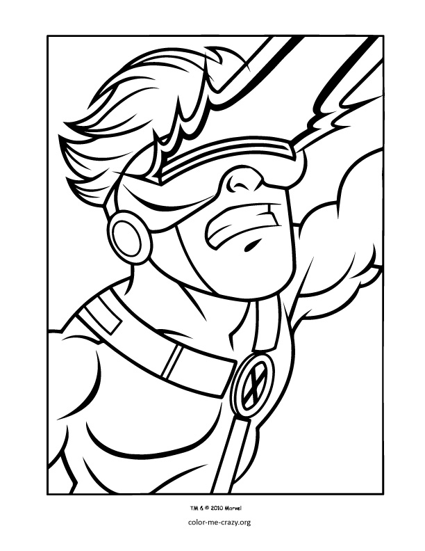 marvel superheroes coloring pages - photo#34