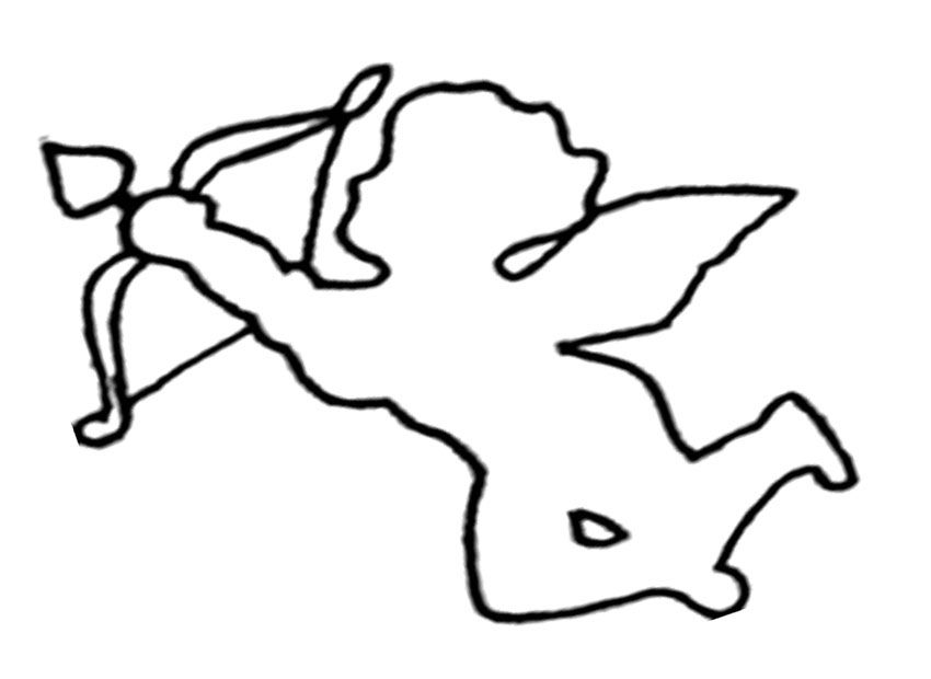 coloring pages cupid - photo#2