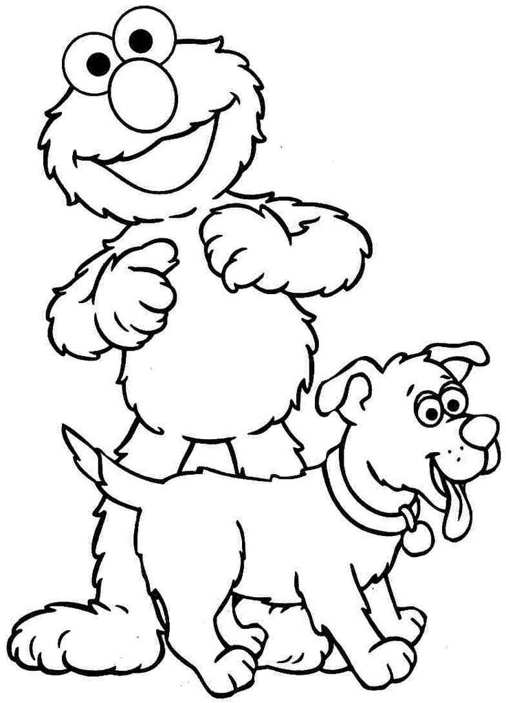 pin by katie kepka on coloring pages - Elmo Printable Coloring Pages