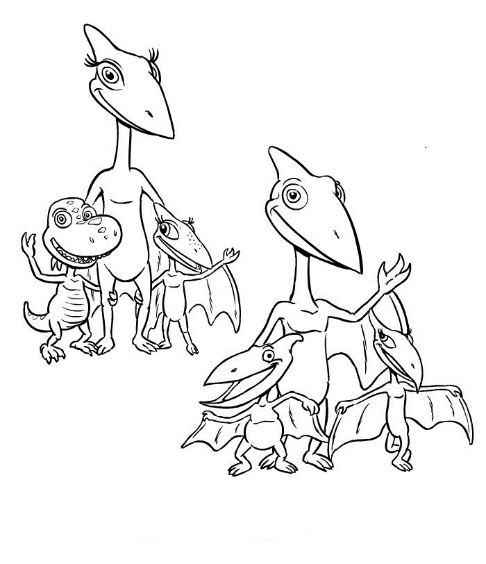 disney dinosaur coloring pages - photo#20