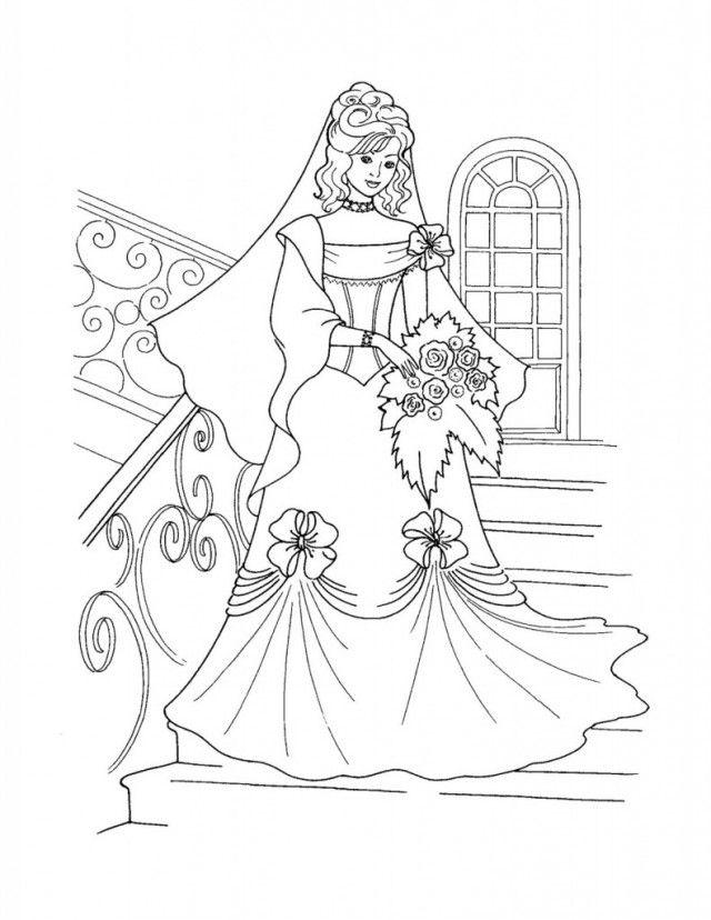 Princess Castle Coloring Pages