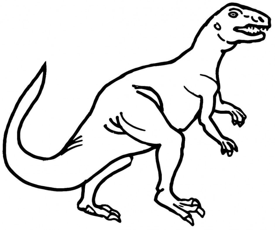 Preschool dinosaur coloring pages for Dinosaur coloring pages preschool