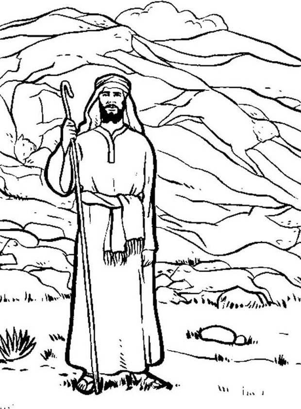 Abraham Lot Az Coloring Pages
